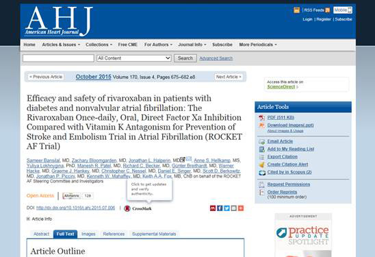 For papers that report on clinical trials, participating publishers will provide Crossref with the DOI and clinical trial number of the article.