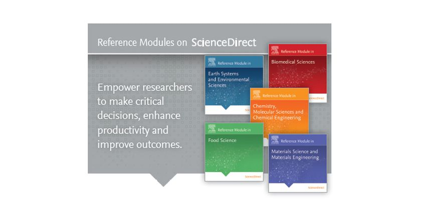 Elsevier Reference Modules