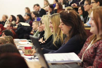 More than 200 delegates convened at the SYP 2013 conference at Oxford Brookes University. (Photos by Emma-Louise Carroll)