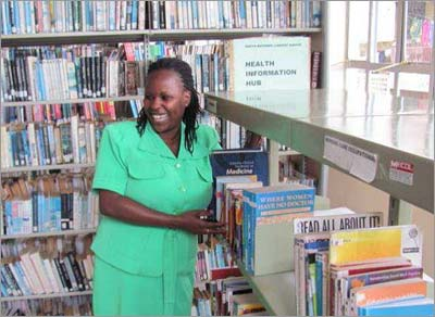 Health Hub at Murang'a Library