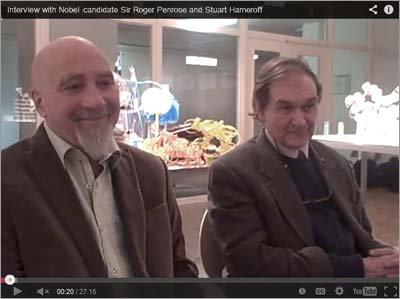 Interview with Drs. Hameroff and Penrose