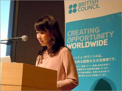 Azusa Tanaka, Head of Education for the British Council Japan