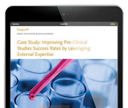 Improving Pre-Clinical Studies Success Rates by Leveraging External Expertise - Scopus Customer Story | Elsevier Solutions