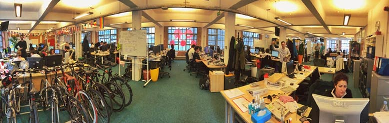 Mendeley's office in London