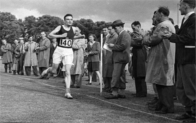 Turing runs a marathon