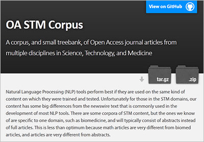 New open access resource will support text mining and