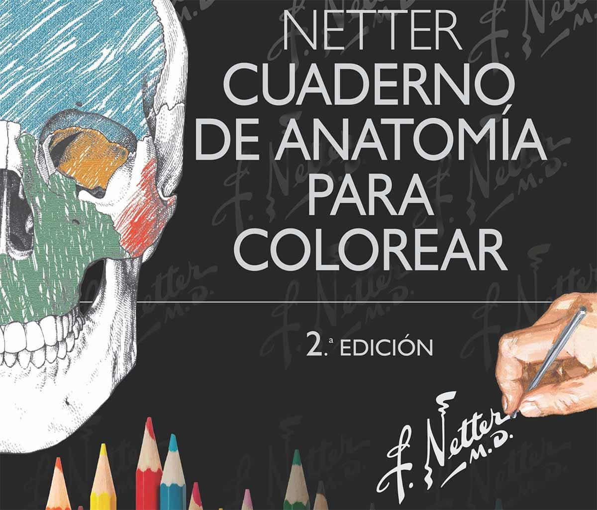Cuaderno de anatomía para colorear\' aprender puede ser muy fácil y ...