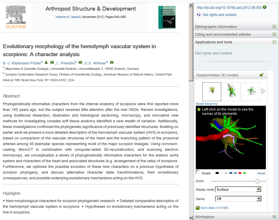 U3D Article Screenshot