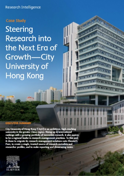Steering Research into the Next Era of Growth: City University of Hong Kong