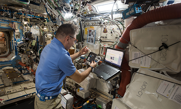 Monitoring astronauts health during long space missions 600