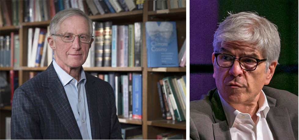 "William D. Nordhaus and Paul M. Romer were awarded the 2018 Nobel Prize in Economics ""for integrating innovation and climate with economic growth."" (Credit: ANP)"