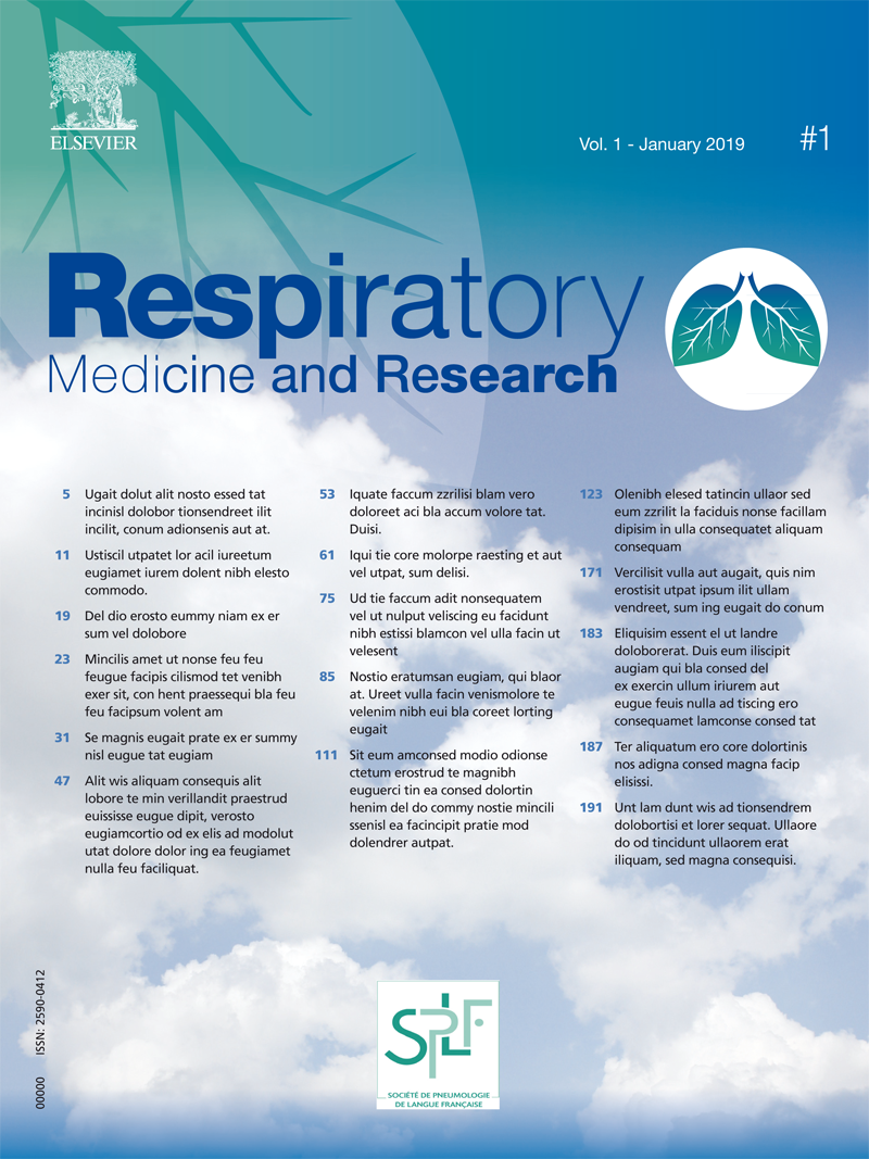 Respiratory Medicine and Research