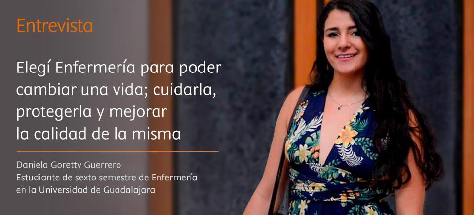 """Daniela Goretty: """"El enfermero debe crear un equilibrio entre la atención a la enfermedad y la atención al ser humano"""""""