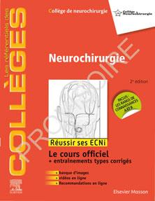 Neurochirurgie référentiels des collèges