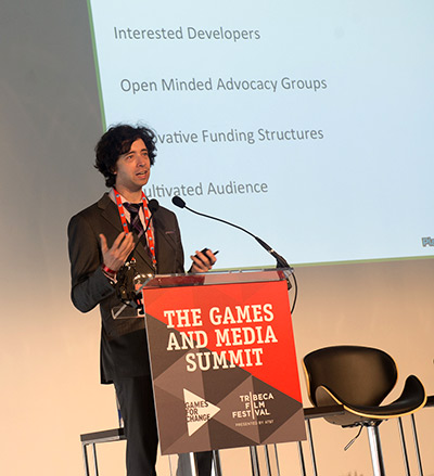 Game designer Nick Fortugno talks about the importance of collaboration.