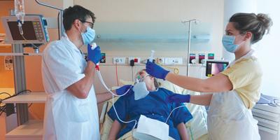 Réalisation d'un gaz du sang artériel