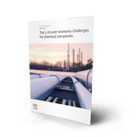 Tackling the top circular economy challenges for chemical companies - cover thumbnail