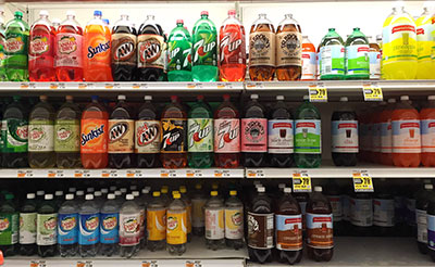 Some policymakers support a tax on drinks with added sugar to encourage consumers to opt for healthier alternatives. (Photo by Alison Bert)