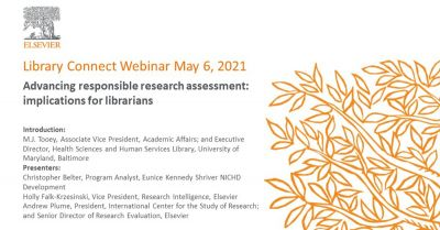 Advancing responsible research assessment: implications for librarians
