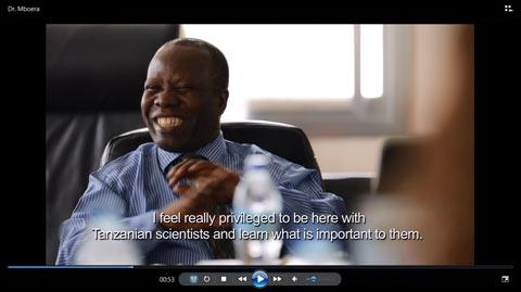 Video: Building scientific publishing in Tanzania
