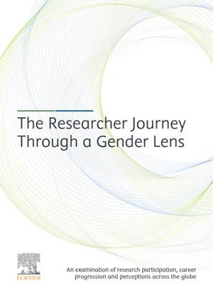Elsevier gender report 2020 cover