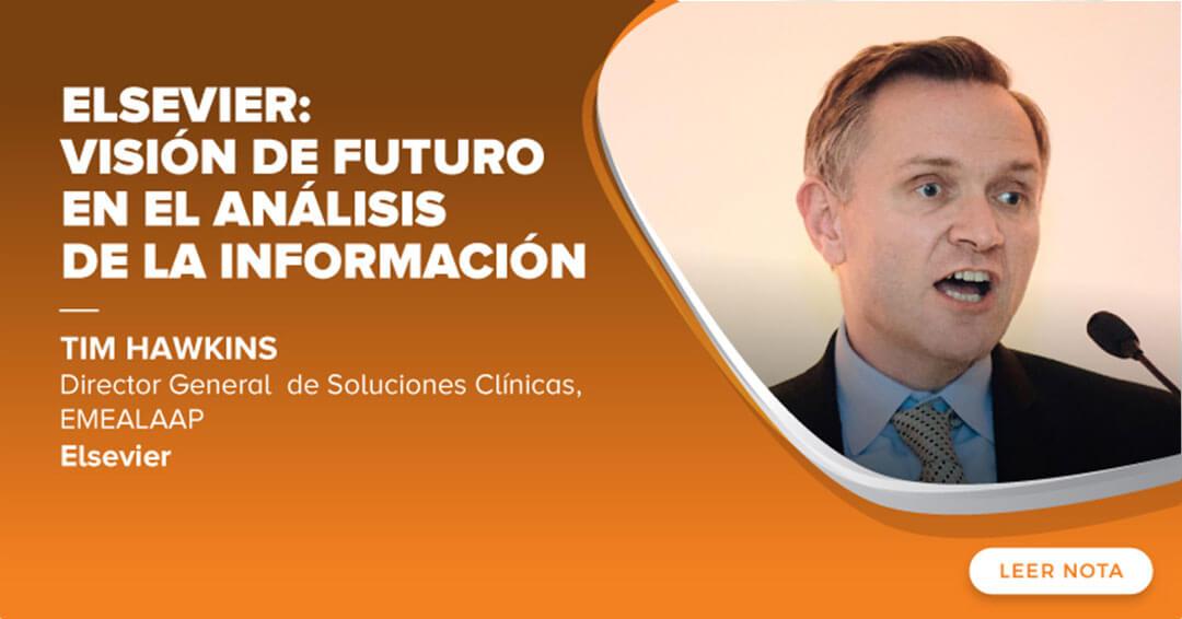 Elsevier vision de futuro en el analisis de la informacion