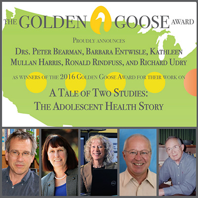 Golden Goose Award winners faced opposition to their adolescent health study