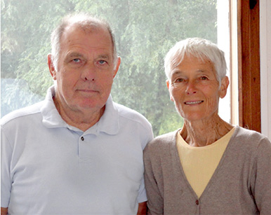 Prof. Yves Pomeau, PhD, and Martine Le Berre, PhD