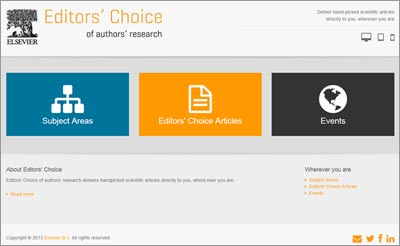 The Editors' Choice mobile website