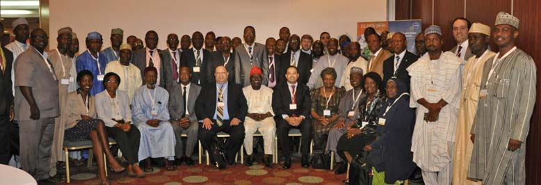 The R&D seminar organized by Elsevier and The Association of Vice Chancellors of Nigerian Universities (AVCNU) was attended by 70 vice chancellors from a mix of the 129 private and government universities across Nigeria.