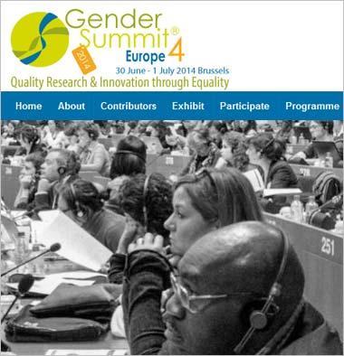 Gender Summit 4