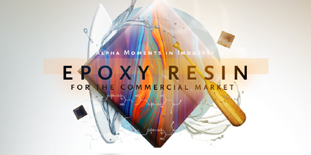 Alpha Moments in Industry – An Epoxy Resin for the Commercial Market