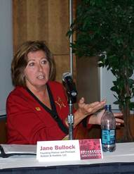 <strong>Jane Bullock speaks on a panel organized by EMPOWER</strong>: Emergency Management Professional Organization for Women's Enrichment