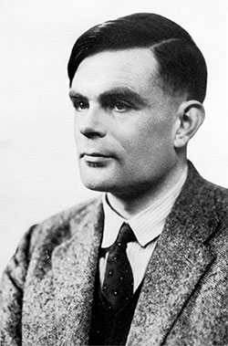 Alan Turing, 1912-1954, courtesy of the National Portrait Gallery, London