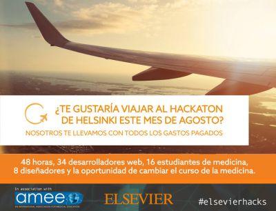 #ElsevierHacks Gana un viaje con todos los gastos pagados a Helsinki