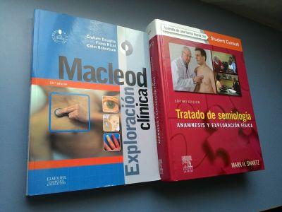 Exploración Clínica de McLeod vs Tratado de Semiología de Swartz