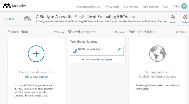 thumbnail of Mendeley shared and published data sources | Elsevier