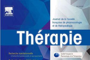 Article de la revue Thérapie : PHARMACOVIGILANCE