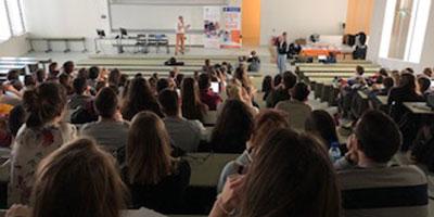 Conférence de Michel Dufour sur l'anatomie