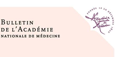 Le Bulletin de l'Académie de Médecine nouvelle version et nouvelle diffusion pour 2019