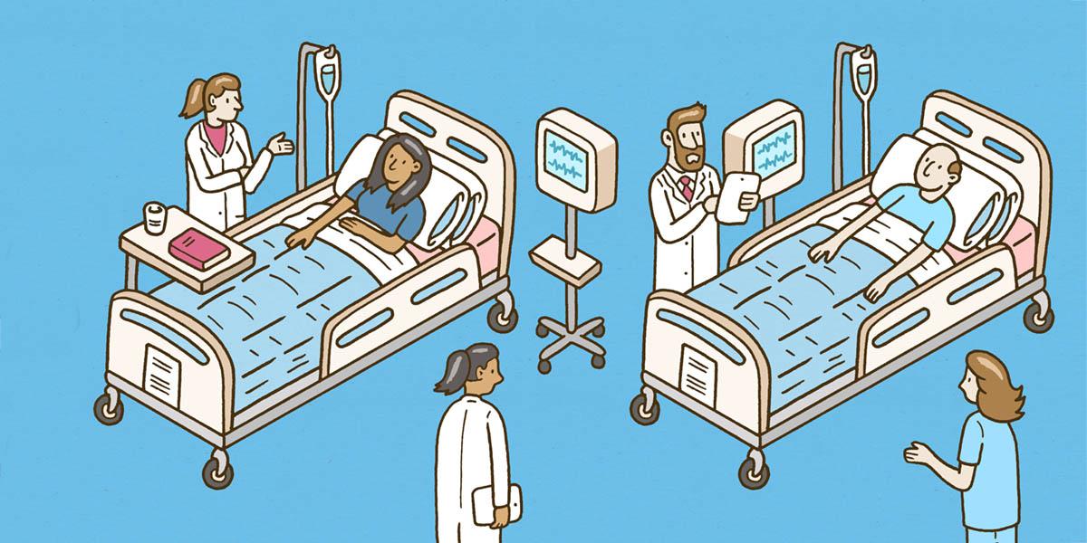 Elsevier hospital illustration