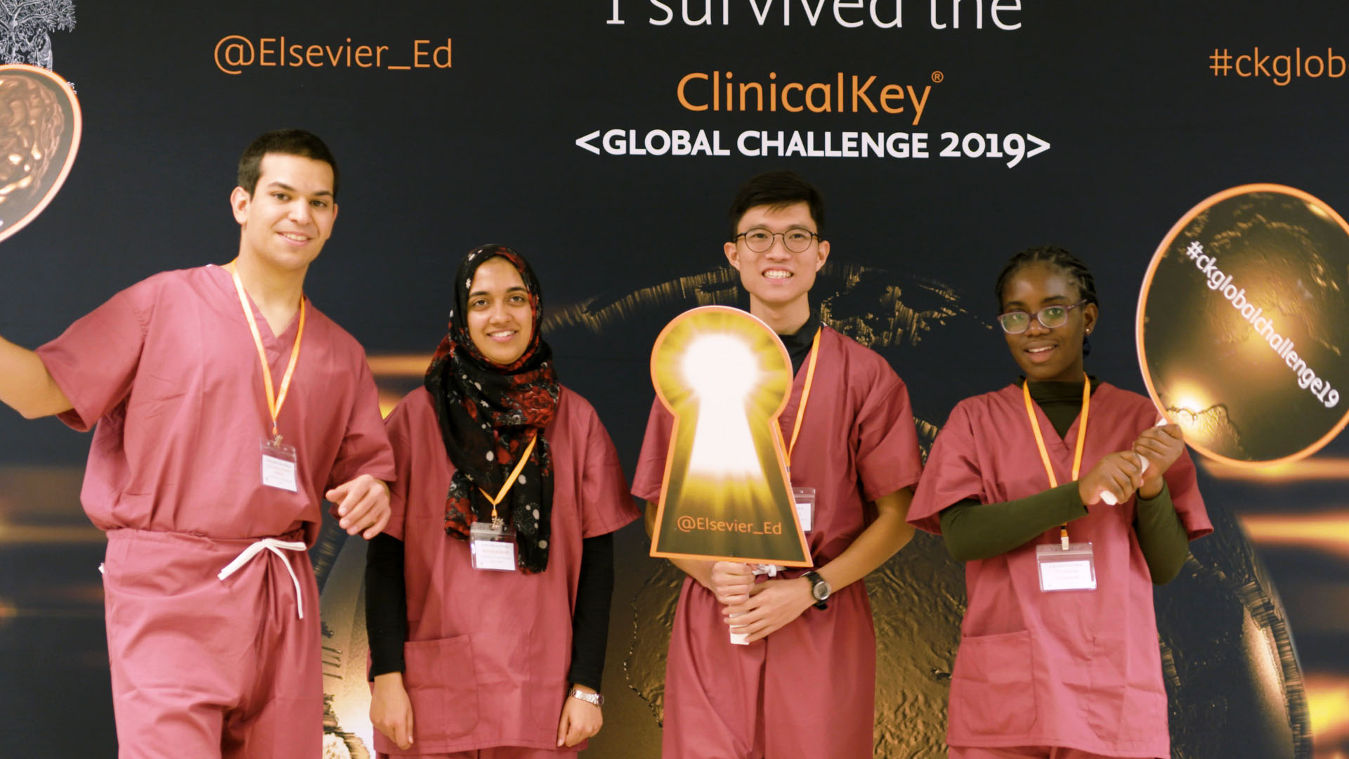 ClinicalKey Student Global Challenge - Finalists team