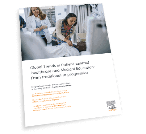 Register your details to access the Global Trends in Patient-Centres Healthcare and Medical Education Insights Paper