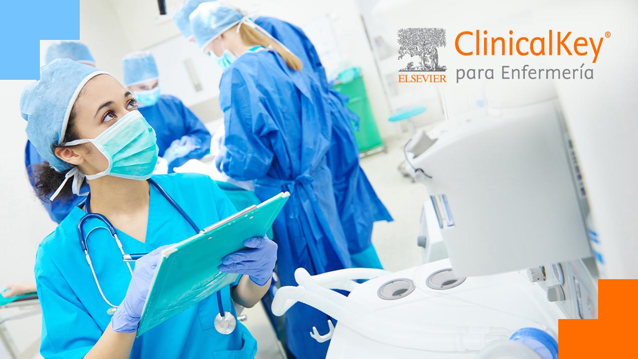 Elsevier presenta ClinicalKey Enfermería