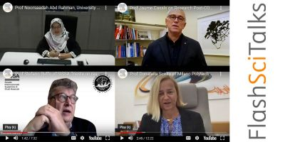 FlashSci Talks: Insights from research leaders