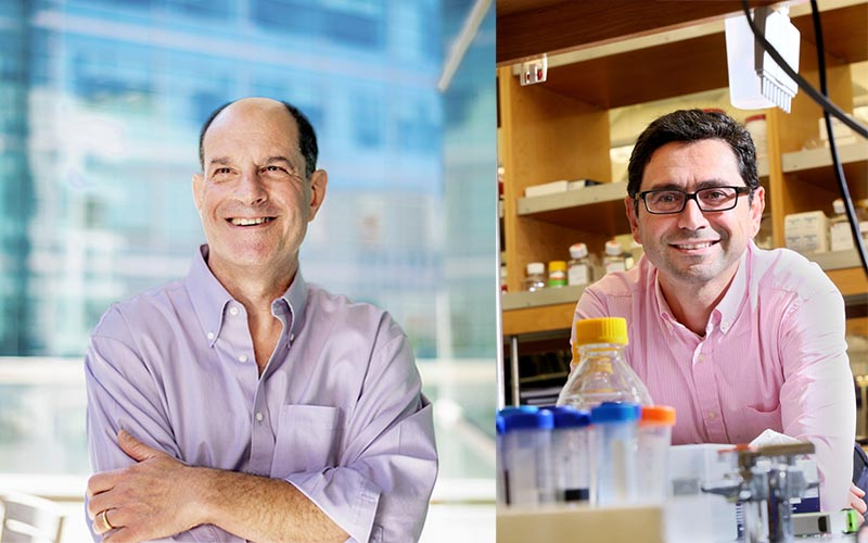 David Julius (left) and Ardem Patapoutian were awarded the 2021 Nobel Prize in Physiology or Medicine. (Photos: ANP)
