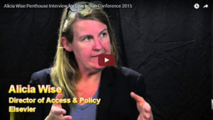 Video: Alicia Wise answers critical questions about Elsevier