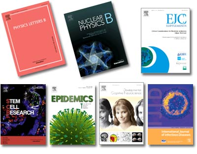 A new beginning in 2014. On January 1, Physics Letters B and Nuclear Physics became open access. Elsevier will change five more titles this year: Stem Cell Research, The International Journal of Infectious Diseases, Developmental Cognitive Neuroscience, Epidemics, and EJC Supplements.