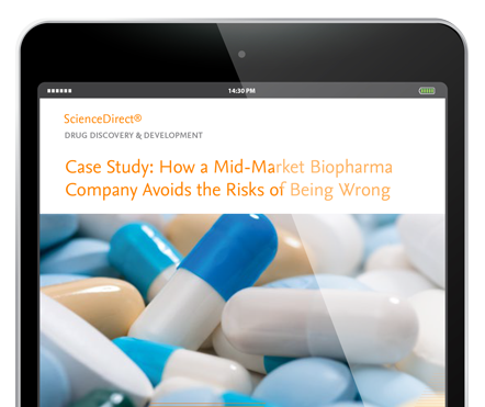 How a mid-market biopharma company avoids the risks of being wrong - ScienceDirect | Elsevier Solutions