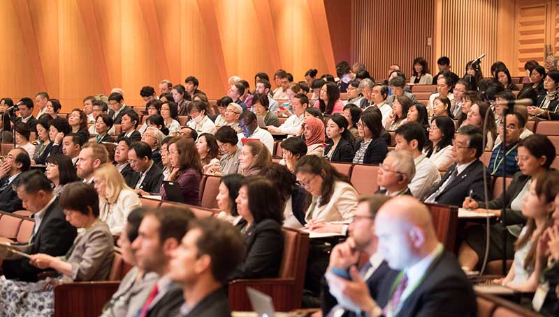More than 600 people from around the world attended the Gender Summit 10 Asia-Pacific. (Photo courtesy of Portia Ltd.)